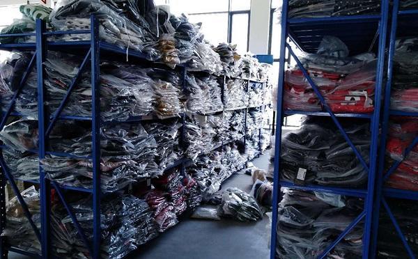 纺织皮革重型货架案例