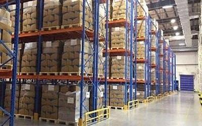 贸易行业重型货架案例